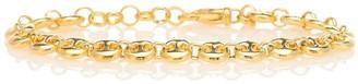 Sophie Buhai Circle Link 18kt gold-plated bracelet