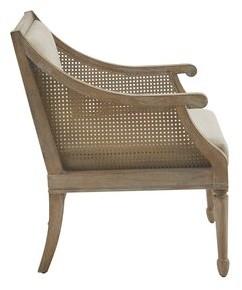 Martha Stewart Isla Armchair Upholstery Color: Beige