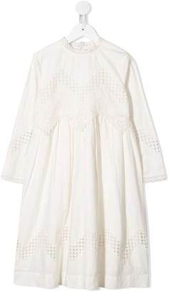 Bonpoint Lace Midi Dress