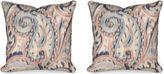 Miles Talbott Collection Boston Manor 19.5x19.5 Pillows, Indigo