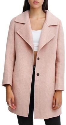 Belle & Bloom Ex-Boyfriend Blush Wool Blend Oversized Jacket