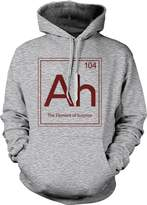 Crazy Dog T-shirts Crazy Dog Tshirts Ah The Element Of Surprise Sweatshirt Funny Periodic Table Hoodie