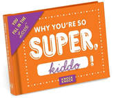 Knock Knock You're Super Fill In Book