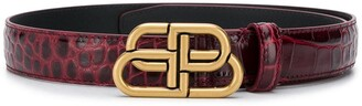 Balenciaga BB thin belt
