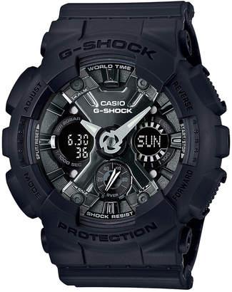G-Shock Women Analog-Digital Black Resin Strap Watch 46mm GMAS120MF-1A