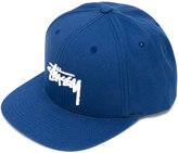 Stussy embroidered logo cap - men - Cotton - One Size