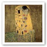 "McGaw Graphics The Kiss by Gustav Klimt 28""x20"" Art Print Poster"