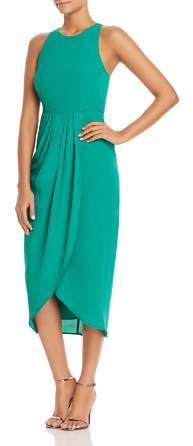 Yumi Kim So Social Tulip-Hem Midi Dress