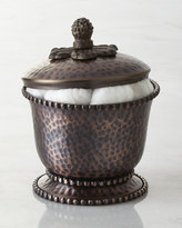 GG Collection G G Collection Hammered Lidded Canister