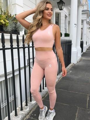 Gym King Sport Fitness Legging - Peach