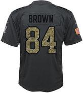 Nike Boys' Antonio Brown Pittsburgh Steelers Salute to Service Jersey