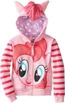 My Little Pony Little Girls' Toddler Fleece Hoodie W Nvlty