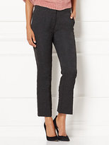 New York & Co. Eva Mendes Collection - Nara Crop Jacquard Pant