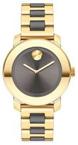 Movado Bold Two-Tone IP Stainless Steel Bracelet Watch