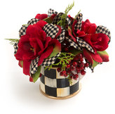 Mackenzie Childs MacKenzie-Childs Courtly Check Rose Accent Bouquet
