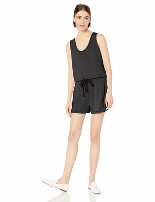 Daily Ritual Amazon Brand Women's Supersoft Terry Sleeveless Relaxed Fit Romper