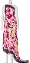 Missoni Silk One-Shoulder Dress