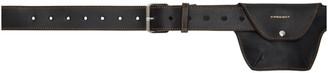 Y/Project Black Pouch Pocket Belt
