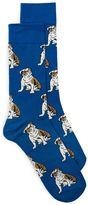 Topman Blue Bulldog Socks