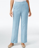 Alfred Dunner Petite Northern Lights Pull-On Pants