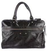 Balenciaga Textured Leather Briefcase
