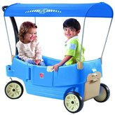 Step2 Step 2 All Around Canopy Wagon - Blue Ride On