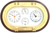 "Bey-Berk 12"" Porthole Wall Clock,Tide Clock,Thermometer, and Hygrometer"