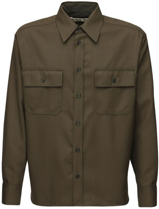 Marni Fifties Cool Wool Field Shirt