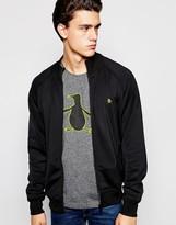 Original Penguin Kirk Zip Through Sweater - Black