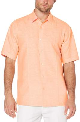 Cubavera Big & Tall Muskmelon Pintuck Shirt