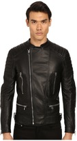 Philipp Plein Leather Motor Jacket