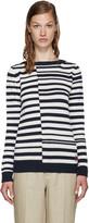 Loewe Navy & White Striped Sweater