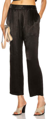Raquel Allegra Ankle Pant in Black | FWRD