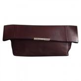 Celine Burgundy Leather Handbag