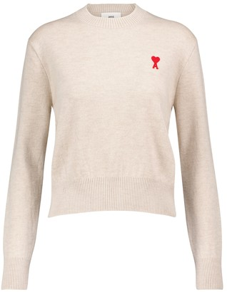 AMI Paris Merino wool sweater