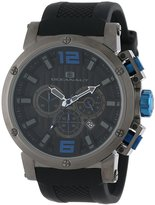 Oceanaut Men's 48mm Silicone Band Steel Case Quartz Watch Oc2125
