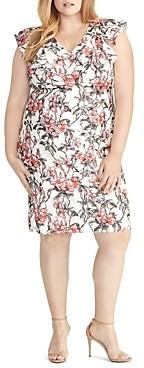 Rachel Roy Plus Lydia Printed-Lace Sheath Dress
