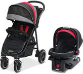 Graco Baby Aire4 XT Stroller and SnugRide Click Connect 35 Infant Car Seat Travel System Set
