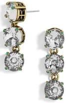 BaubleBar Women's Cariana Crystal Drop Earrings