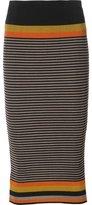 OSKLEN striped knitted skirt - women - Polyamide/Spandex/Elastane/Viscose - P