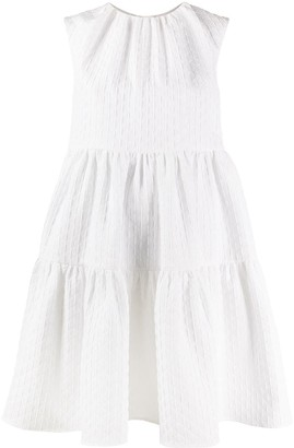 MSGM quilted parachute dress