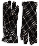 Cejon Plaid Velvet Gloves