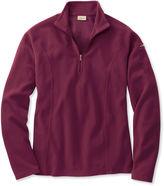L.L. Bean Women's Fitness Fleece, Quarter-Zip Pullover