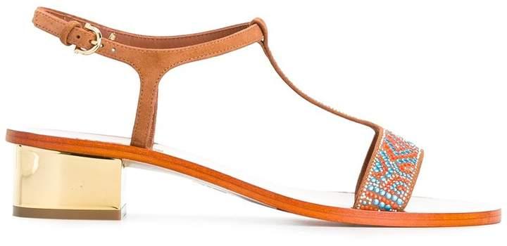 Salvatore Ferragamo mosaic sandals