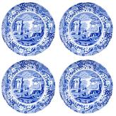 Spode Blue Italian Luncheon Plates (Set of 4)