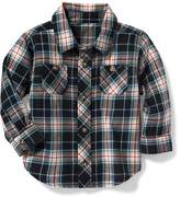 Old Navy Plaid Double-Pocket Shirt for Baby