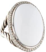 David Yurman Agate & Diamond Signature Ring
