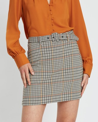 Mng Wide Skirt