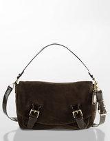 Hadley Suede Cross-Body Bag