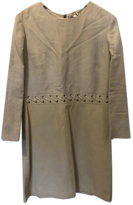 Chloã© ChloA Beige Leather Dresses